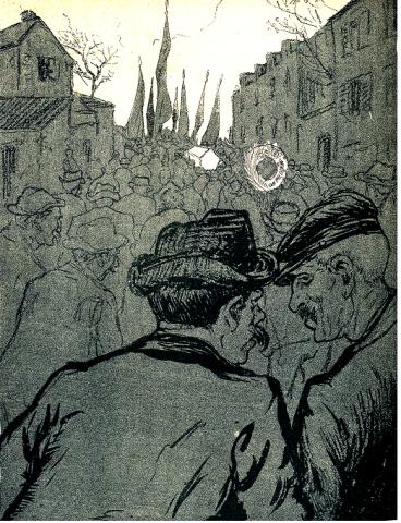 El entierro-Grandjouan_L'Assiette au beurre 1905