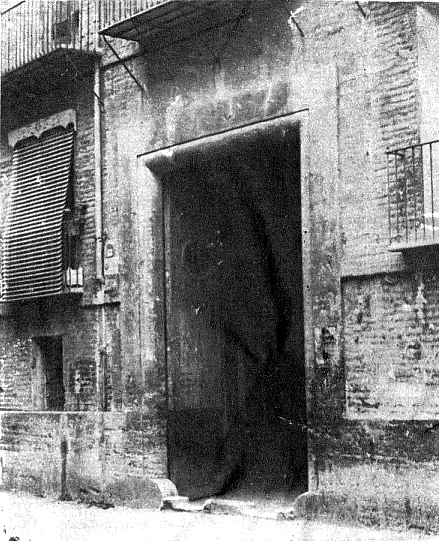 Entrada Casa del Pueblo Valencia_carrer Gracia 68_inaugurada en 1904