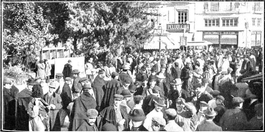 Huelga enero 1905 Valencia_manifestacion calle Barcas_Nuevo Mundo 19-01-1905