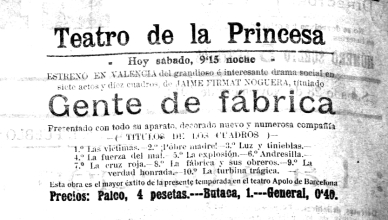 Propaganda Teatre Princesa