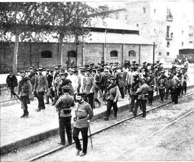 Sucesos Cullera_conduccion presos_Nuevo Mundo 14-12-1911