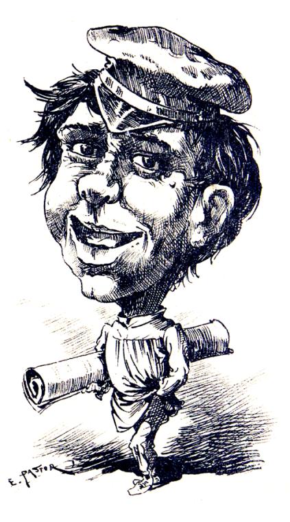 Un socialista_El chico de las cuartillas_Valencia Comica dic 1890_01
