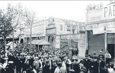 Vista del Paralelo_Archivo La Vanguardia
