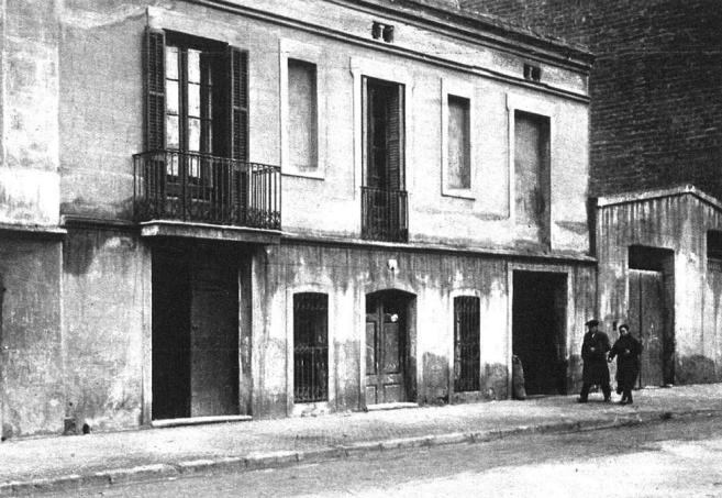 Ateneo Faros_calle Milans del Bosch_Avd. Mistral nº17, 1ª_Trasladada en diciembre 1933 a Finca la Bordeta tras su cierre_Barcelona_Foto Torrens