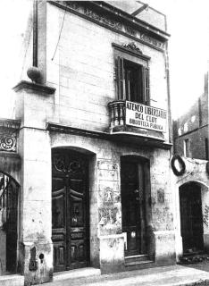 Ateneo Libertario del Clot_1934