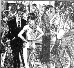 Carrer del Cid_Barcelona_La Rambla 18-09-1933_Dibuix Santsalvador