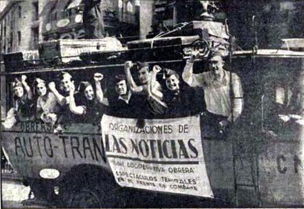 Compañia Artistica_Salida hacia Frente Aragón_las Noticias 04-09-1936_01