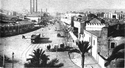 Cuartel Atarazanas_Paralelo_Barcelona años 30_Foto Torrens