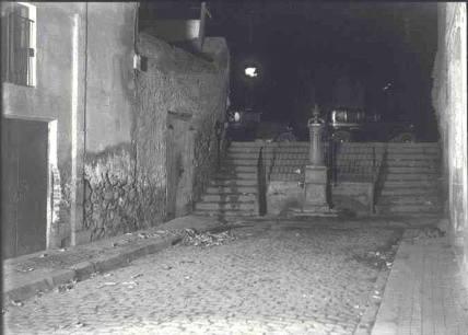 Escaletes de sant bertran_La Rambla 6 febr. 1933_