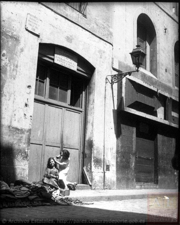 calle del Cid_guerra civil_kati Horna