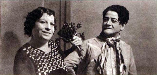 Imitador de Estrellas -Darwin- y Florista_Personajes del Xino_Cabaret Barcelona de Noche_Crónica 15-05-1936_Foto Torrens