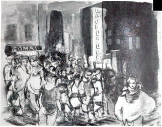 La Criolla_Carrer del Cid_Dibuix P. Creixams_1931