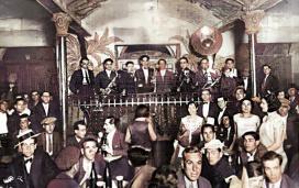 La Criolla_Escenario Orquesta_1929