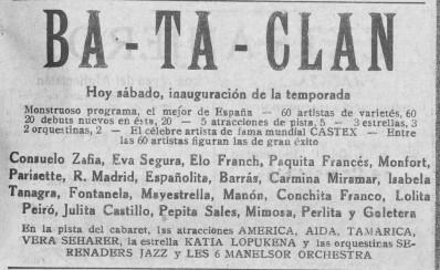 Mimosa en Bataclan de valencia_EP 1928 abril 7