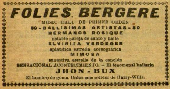 Mimosa en Folies Bergere_El Diluvio 20 sept. 1928