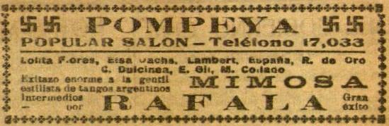Mimosa en Pompeya_El Diluvio10 oct. 1928