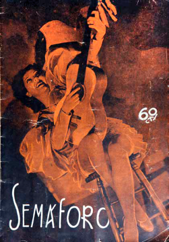 Portada de la revista Semáforo nº15_15-9-1937_Col·lecció Esteban Monreal Moreno