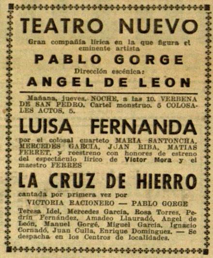 Rosa Torres_El Diluvio 27 jun. 1934
