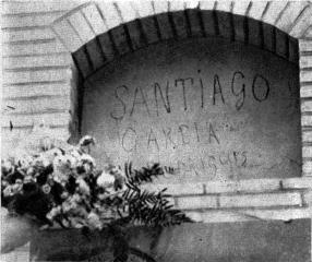 Santiago Garcia secret Sind Unico Metalurgia de Valencia_asesinado por la patronal_cementerio civil Valencia