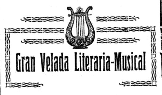 Velada literaria-musical