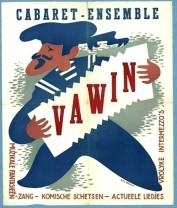 Cabaret-ensemble VAWIN_ca 1950_Berthauer, Wim_IISH