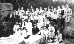 GIRA llibertaria_Barcelona 1916_La Soli va organitzar diverses excursions Pro-Diari a la Font den Fargues_On celebraven Actes culturals i Festius