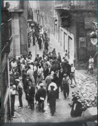 Barricada districte cinquè BCN_década 1930