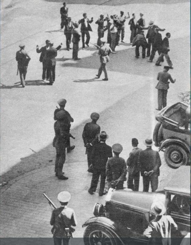 Vaga de Llogers Barcelona 1931_Detencions plaça Catalunya Barcelona_01